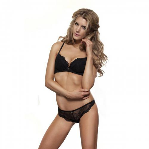 String Gossard SUPERBOOST LACE Black