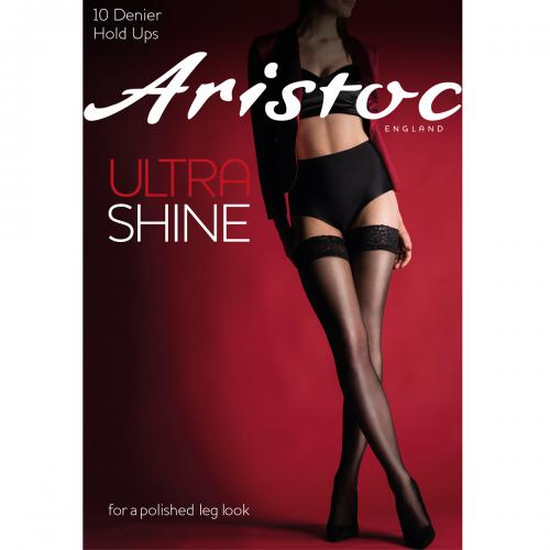 Bas 10D Aristoc ULTRA black  - Collants et bas