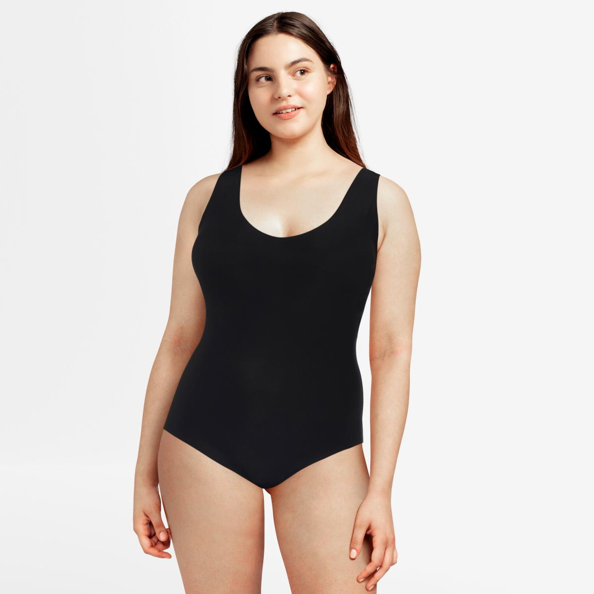 Body paddé stretch Chantelle SOFT STRETCH noir