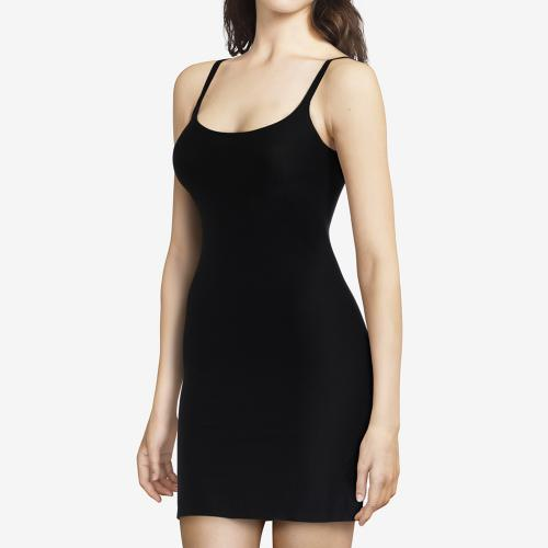 Fond de robe Chantelle SOFT STRETCH noir