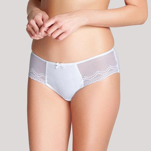 Culotte Cléo by Panache HETTIE Blanc - Lingerie cleo by panache grande taille