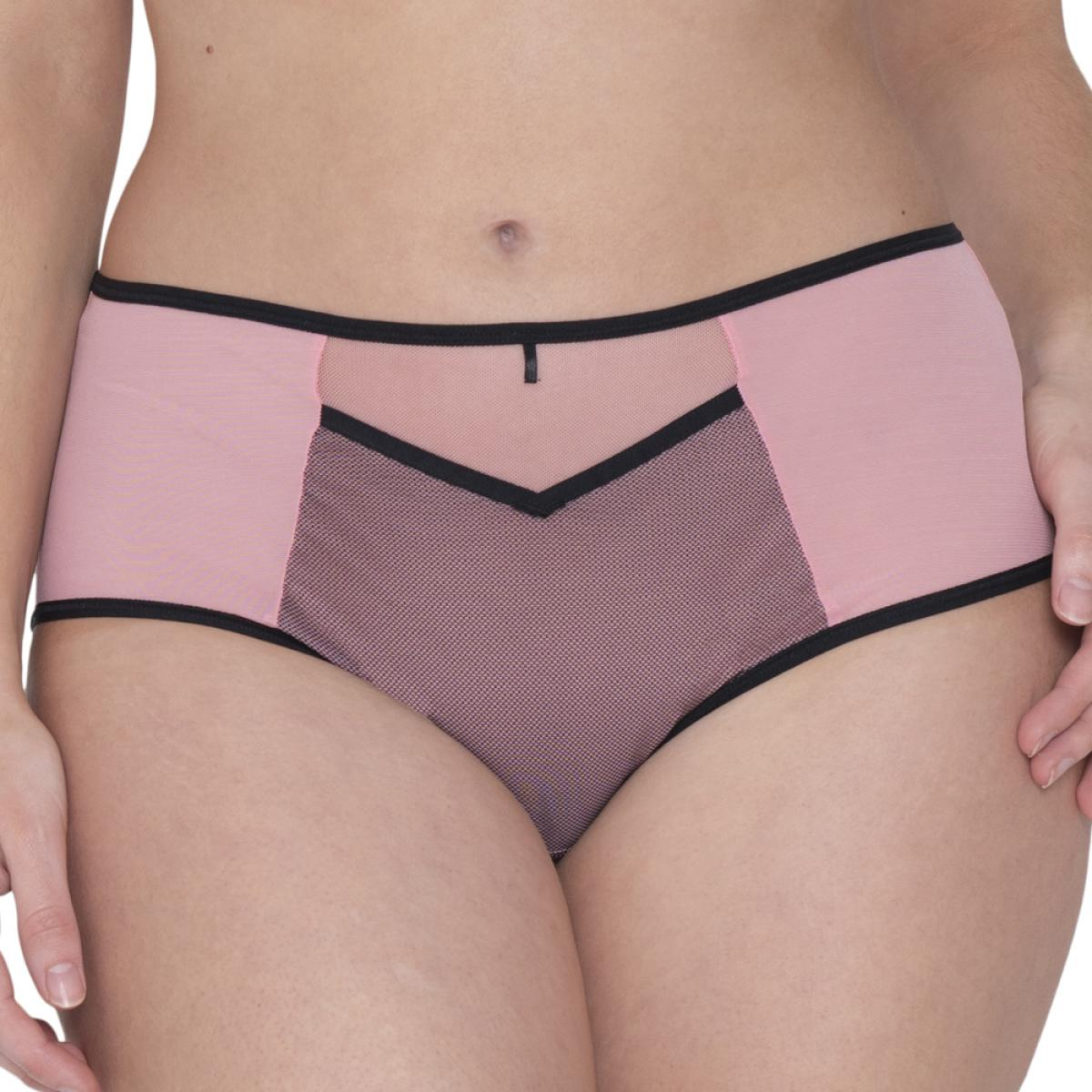 Shorty Curvy Kate VICTORY VIVA Pink Black