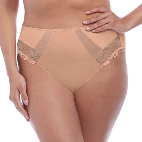 Culotte taille haute beige Elomi MEREDITH sahara - Lingerie elomi grande taille