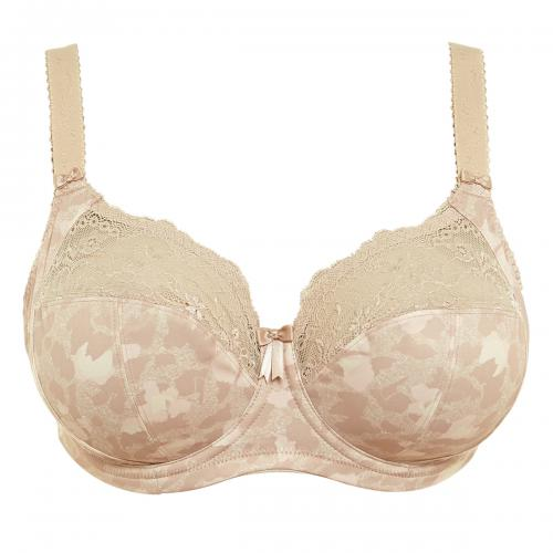 Souien-gorge emboitant armatures Elomi MORGAN toasted almond  - Lingerie elomi grande taille