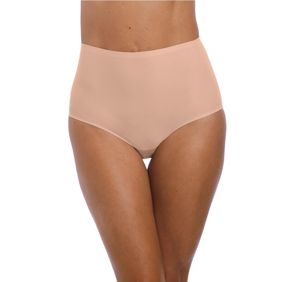 Culotte taille haute invisible stretch Fantasie SMOOTHEASE Beige