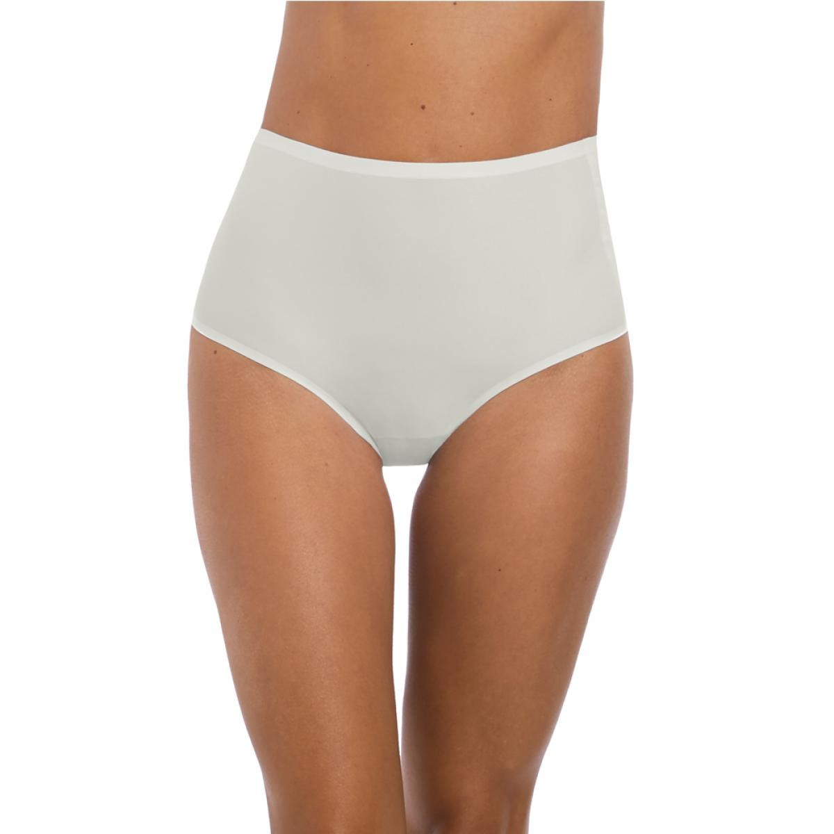 Culotte taille haute invisible stretch Fantasie SMOOTHEASE Ivoire