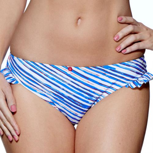 Slip de bain latino Audelle SEASIDE FEVER blue/white