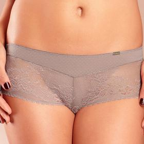 Shorty Chantelle SUPERBE cappuccino - Lingerie grande taille