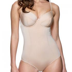 Body gainant à armatures Charnos SUPERFIT SMOOTH brûlée Charnos - Bodies - Lingerie charnos grande taille