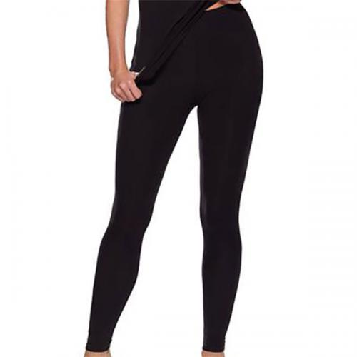 Legging Charnos SECOND SKIN THERMAL WEAR noir - Lingerie charnos grande taille