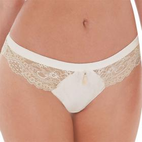 String Charnos BAILEY ivory - Lingerie charnos grande taille