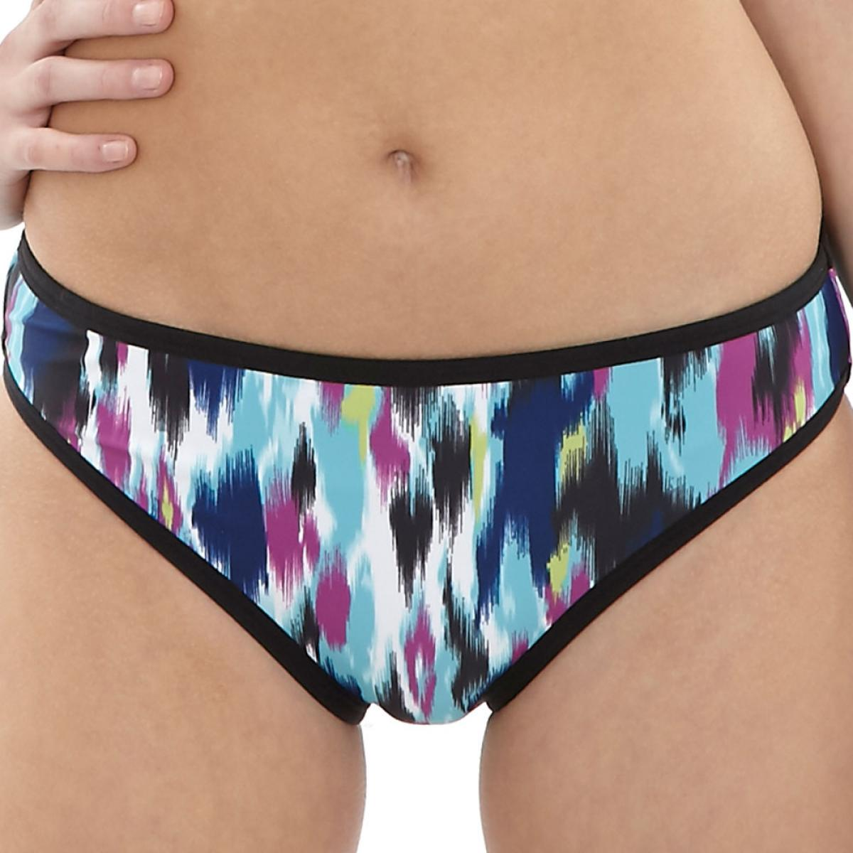 Slip de bain Cleo by Panache AVRIL abstract print