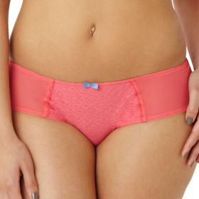 Slip Cleo by Panache KOKO MODE coral - Boxer femme shorty