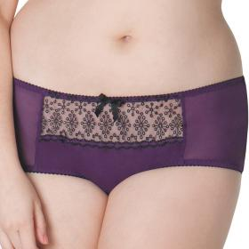 Shorty Curvy Kate ATOMIC plum Curvy Kate - Shorty/Boxer - Lingerie curvy kate grande taille