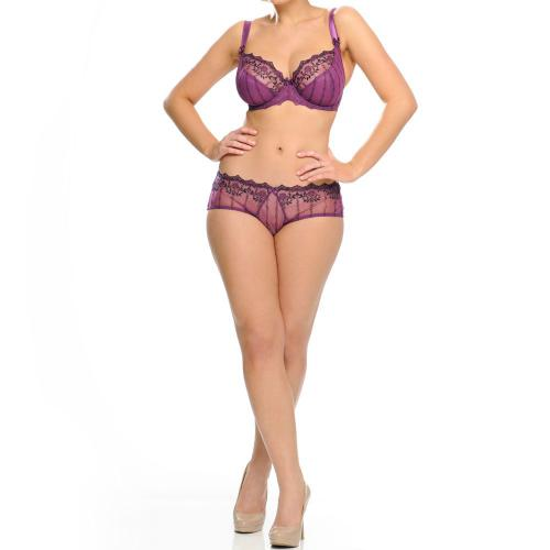 Shorty/Boxer Curvy Kate Violet