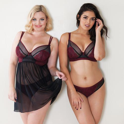 Culotte/Slip Dragonfly Curvy Kate Rouge