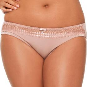 Slip Curvy Kate GIA poudré - Lingerie curvy kate grande taille