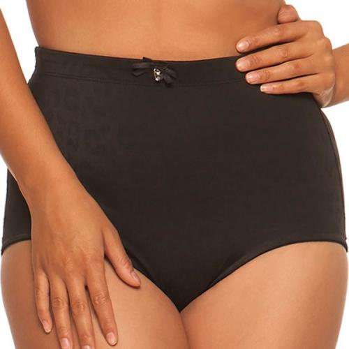 Slip gainant taille haute Curvy Kate SMOOTHIE wild black