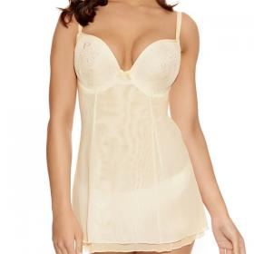 Babydoll Freya DECO DARLING ivoire - Lingerie grande taille