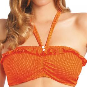 Haut de maillot de bain Freya CHERISH orange bandeau - Maillot de bain orange
