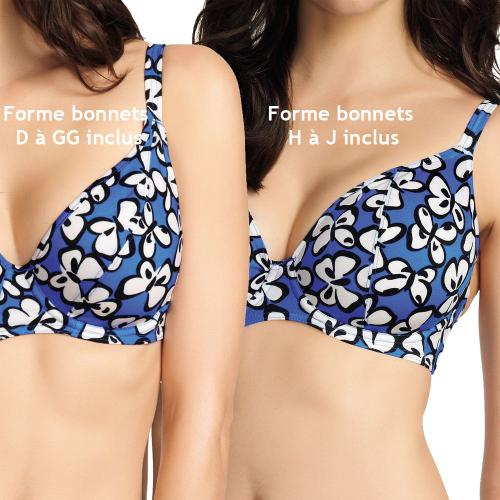 Maillot de bain soutien gorge Freya Maillots Madame butterfly