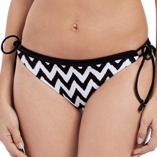 Slip de bain italien noué Freya MAKING WAVES black
