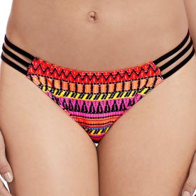 Slip de bain tanga Freya WAY OUT WEST sunrise - Maillot de bain rose