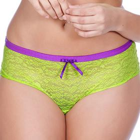 Shorty Freya FANCIES lime punch Freya - Shorty/Boxer - Lingerie grande taille
