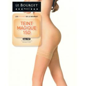 Bas Top Le Bourget TEINT MAGIQUE 15D bronzé - Collants et bas le bourget