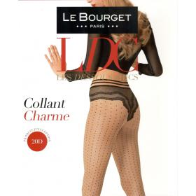 Collant Le Bourget CHARME 20D bronze