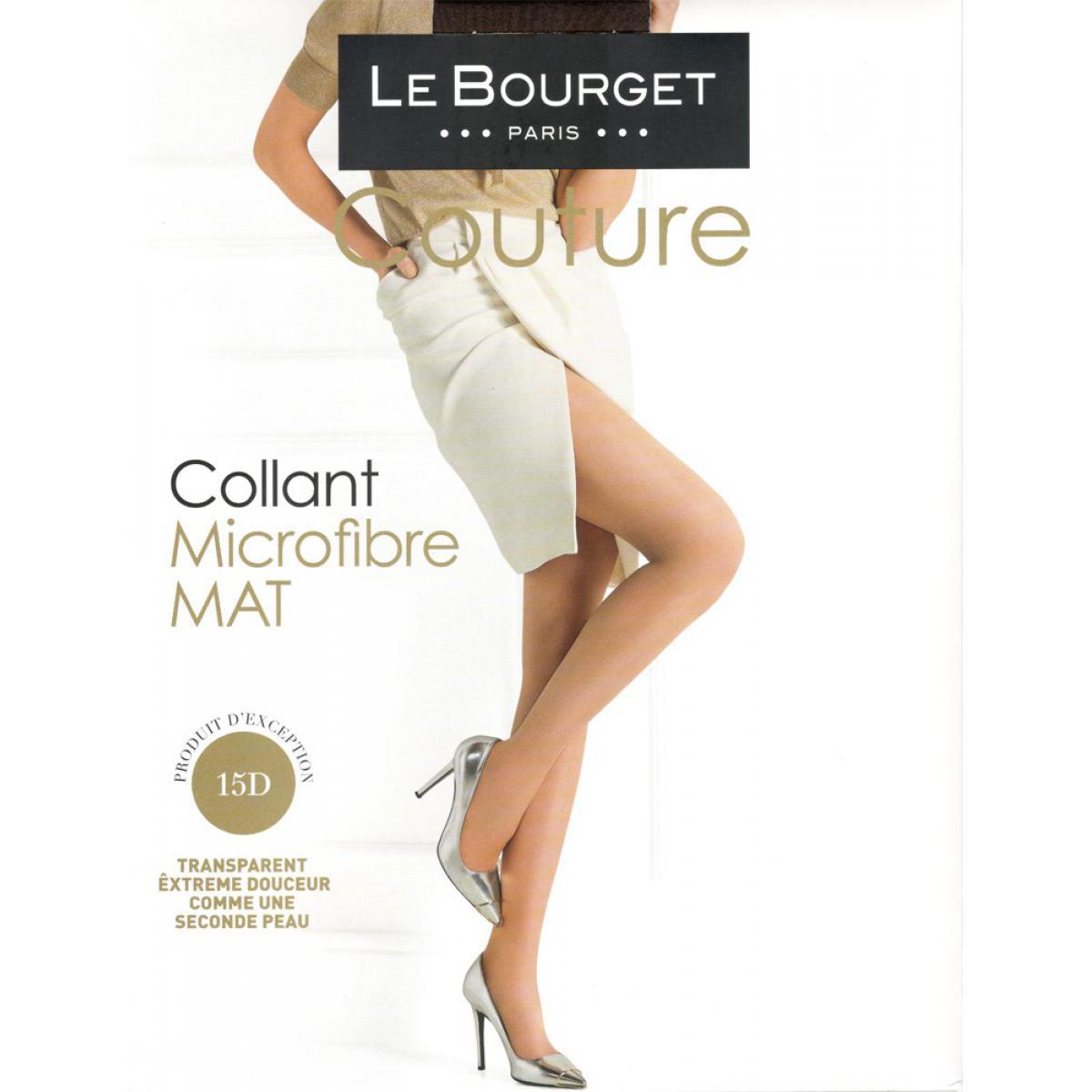Collant Le Bourget MICROFIBRE 15D vison Le Bourget - Fitancy 698ee384caa