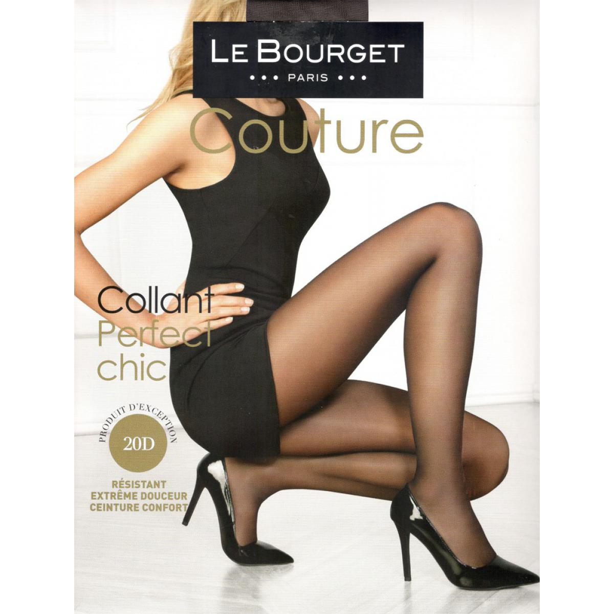 Collant voile 20D LE BOURGET Perfect Chic smoke