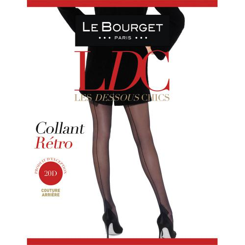 Collant Le Bourget RETRO 20D noir