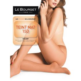 Collant Le Bourget TEINT MAT 15D noir - Collants et bas