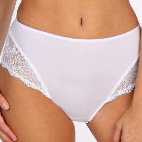Slip taille haute Marie Jo PEARL white - Lingerie mariage