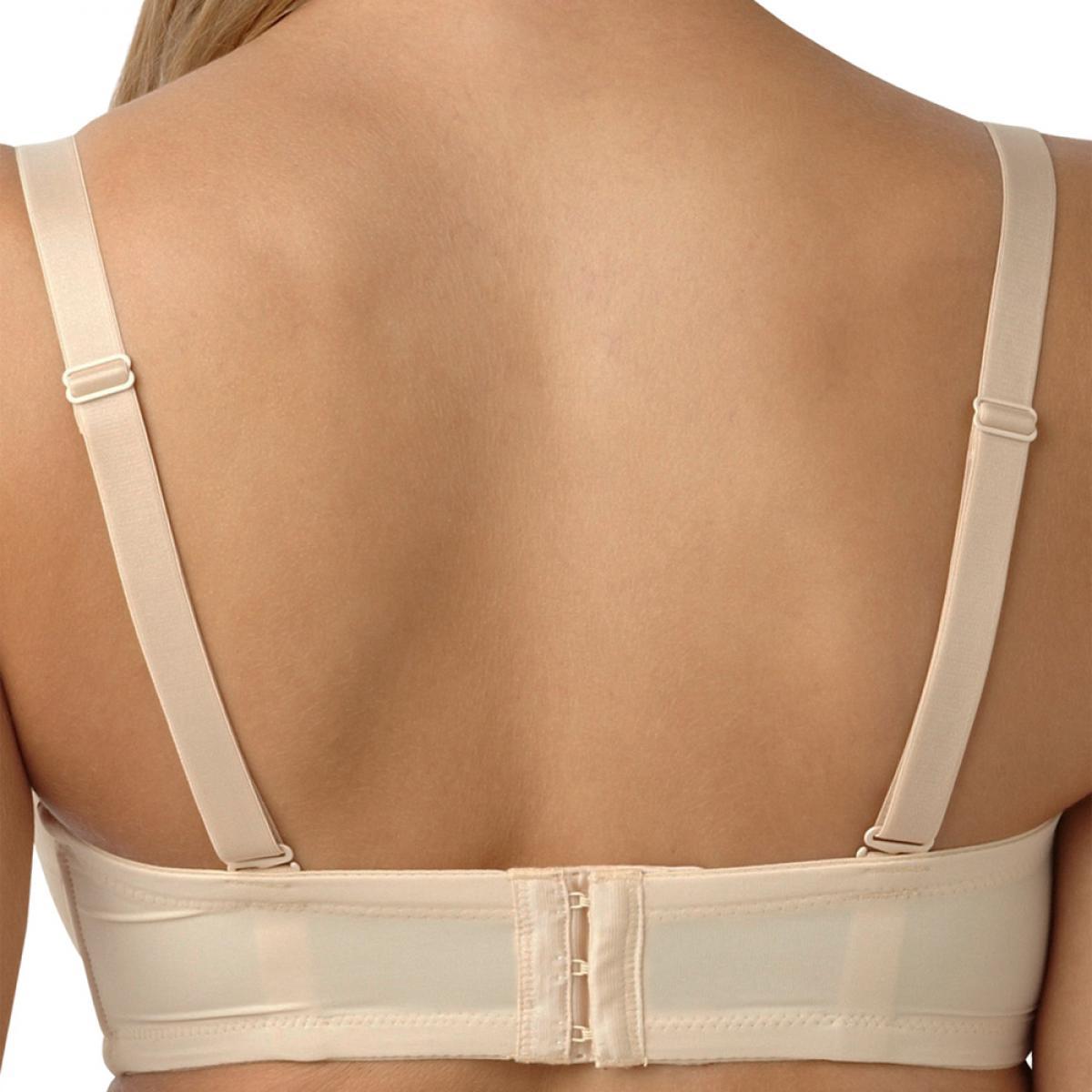 Soutien-gorge bandeau à bretelles amovibles Panache EVIE nude ... a466c26df12