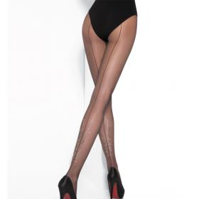 Collant Pierre Mantoux MARGOT nero/crystal Pierre Mantoux - Collant - Collants et bas pierre mantoux