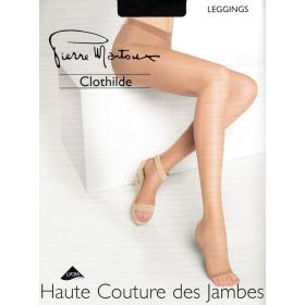 Legging Pierre Mantoux CLOTHILDE nero 8D