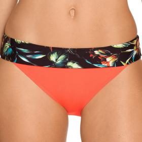 Slip de bain à revers PrimaDonna BILOBA exotic night - Maillot de bain orange
