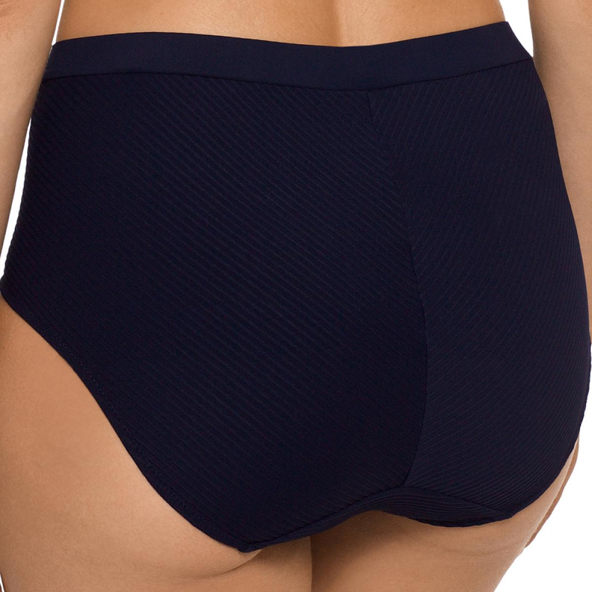 Nikita Bas de bikini taille haute, Bleu