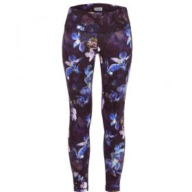Legging de sport long Ringella IT S FOR YOU purple - Lingerie imprime floral