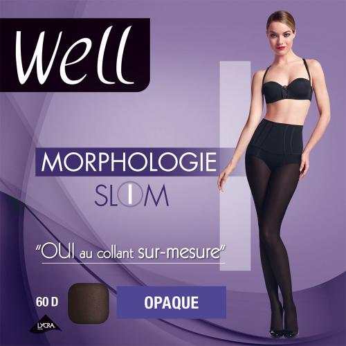 Collant opaque Well MORPHOLOGIE 60D noir