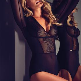 Body Gossard GLOSSIES LACE Black Gossard - Bodies - Lingerie body