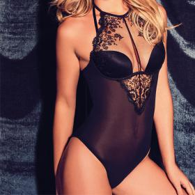 Body Gossard VIP SPARKLE Black Gossard - Bodies - Lingerie body