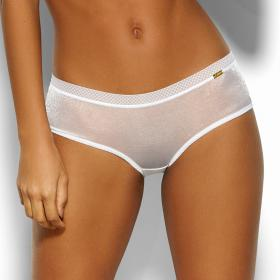 Shorty Gossard GLOSSIES White - Lingerie grande taille