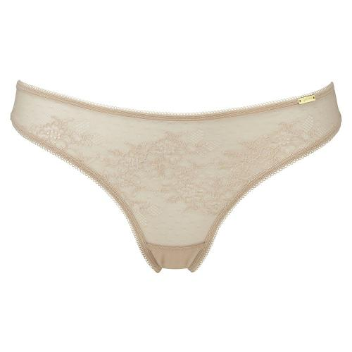 String Gossard GLOSSIES LACE Nude - Lingerie gossard