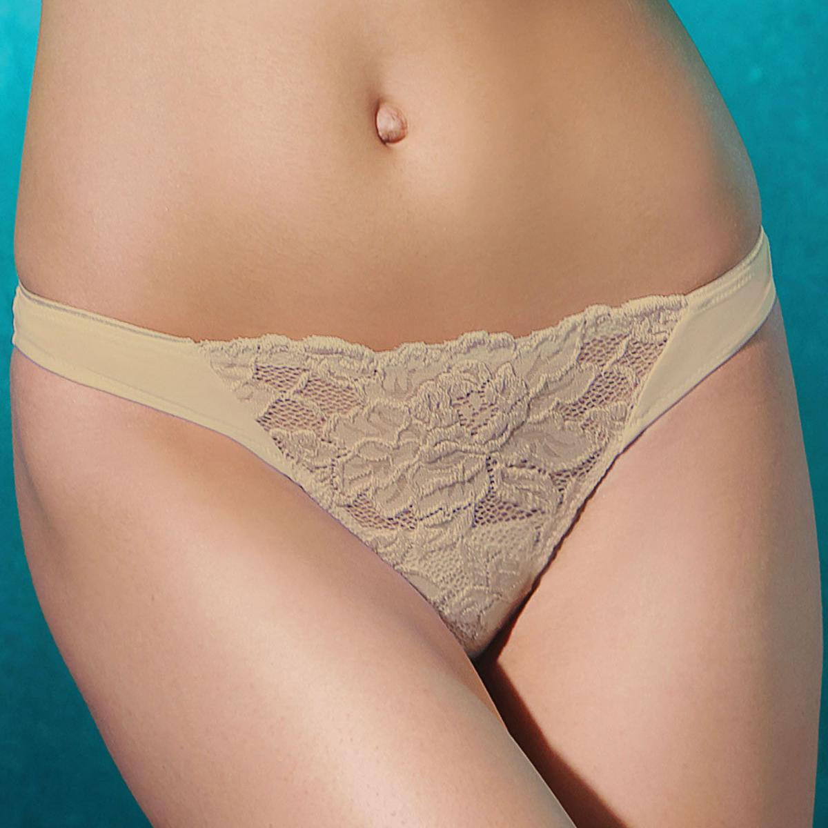 String Jolidon LACE DELIGHT beige