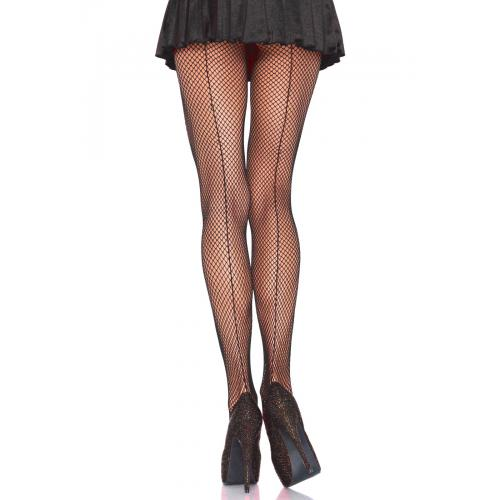 Collant resille Leg Avenue noir - Collants et bas