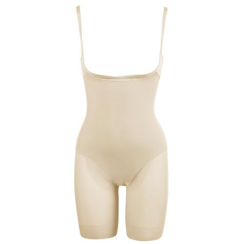 Combinette gainante Miraclesuit SEXY SHEER SHAPING nude - Lingerie sculptante maintien fort