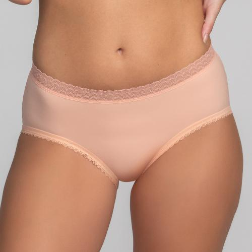 Culotte classique Playtex INVISIBLE ELEGANCE Rose des Sables - Lingerie playtex grande taille